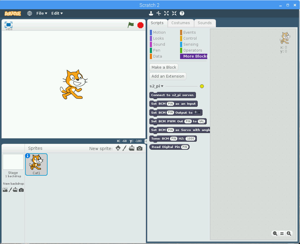 Create Your Own Scratch2 Extensions - s2-pi